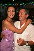 UNIVERSAL CITY - JULY 19: Adrianne Curry and Christopher Knight at the Premiere Screening of