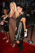 UNIVERSAL CITY - JULY 19: Mary Carey and Bridgetta Tomarchio at the Premiere Screening of