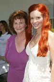 BEVERLY HILLS - AUGUST 06: Phoebe Price and her mother at the Fulfillment Fund's Fifth Annual Summer