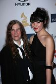 Patti Smith, Jesse Smith at the 2013 Clive Davis And Recording Academy Pre-Grammy Gala, Beverly Hilt