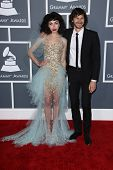 Kimbra Lee Johnson, Wouter De Backer at the 55th Annual GRAMMY Awards, Staples Center, Los Angeles,