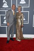 Tito Ortiz, Jenna Jameson at the 55th Annual GRAMMY Awards, Staples Center, Los Angeles, CA 02-10-13