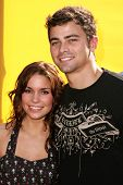 HOLLYWOOD - NOVEMBER 05: Mandy Musgrave and Matt Cohen at Bogart Backstage 2006 Children's Choice Aw