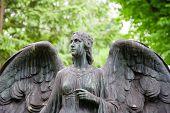 stock photo of koln  - Grave at Melaten Friedhof in Cologne - JPG