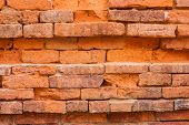 foto of slut  - Old brick wall shot at close range - JPG
