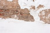 pic of dialect  - Closeup picture of a white wall with a hundred but - JPG