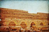 pic of medusa  - Libya Tripoli Leptis Magna Roman archaeological site  - JPG
