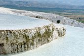 picture of cleopatra  - Ancient Cleopatra source water in Pamukkale - JPG