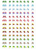 pic of south american flag  - Flags of South America  - JPG