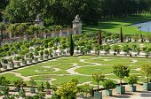 foto of versaille  - the garden of the Versailles palace Orangery - JPG