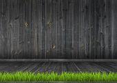 stock photo of green wall  - Interior - JPG