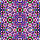 picture of symmetry  - Symmetry kaleidoscope colored glass  - JPG