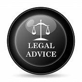 image of judiciary  - Legal advice icon - JPG