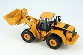 image of dredge  - Yellow plastic dredge toy - JPG