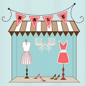 picture of boutique  -  Boutique storefront  - JPG