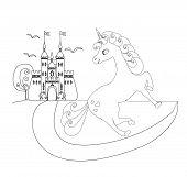 foto of fairy tail  - cute unicorn and fairy - JPG