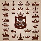 pic of crown jewels  - Crowns set  - JPG
