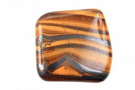 foto of tiger eye  - tiger eye isolated on the white background - JPG