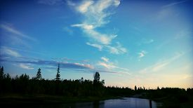 picture of incredible  - Incredibly beautiful sky - JPG