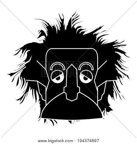 Isolated Einstein Silhouette