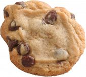 image of chocolate-chip  - A close up of a chocolate chip cookie - JPG