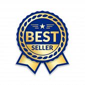Award Ribbon The Best Seller poster