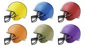 foto of football helmet  - Football Helmets - JPG