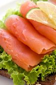 image of baps  - Salmon Sandwich - JPG