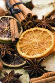 foto of dry fruit  - Dried Fruit and Decoration - JPG