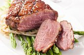 picture of barbary duck  - Duck breast - JPG