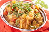 foto of paneer  - Paneer vegetable jalfrezi - JPG
