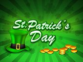 St Patrick's Day background. EPS 10.