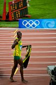 Usain Bolt Celebrates New World Record