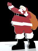 pic of hooters  - SAnta Claus brings presents - JPG