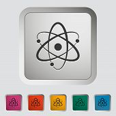 stock photo of neutrons  - Atom - JPG
