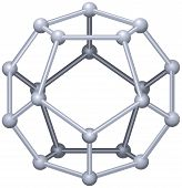 picture of pyrite  - A Platonic solid in geometry - JPG