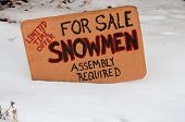 Snowmen For Sale