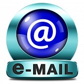 email box or mailbox icon e-mail or e mail button inbox and outbox