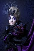 stock photo of evil queen  - Dark queen - JPG