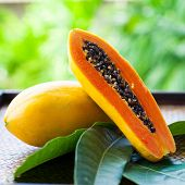 pic of pawpaw  - tropical fruits - JPG