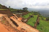 Ruins of Sigiriya castle, Sri Lanka