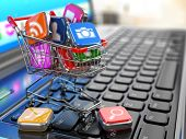 pic of cart  - Store of laptop software - JPG