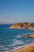 picture of gibraltar  - Atlantic Ocean coastal landscape Gibraltar strait Morocco - JPG