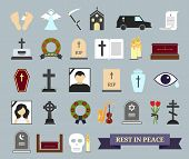 stock photo of hearse  - Death - JPG