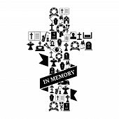 picture of funeral  - In Memory Concept  - JPG
