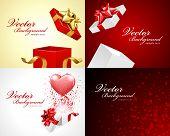 picture of valentine card  - Set Happy Valentine - JPG