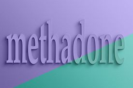 stock photo of opiate  - 3D text with shadow and reflection - JPG
