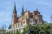 picture of battle  - Basilica of Our Lady of Battles Covadonga Asturias Spain - JPG