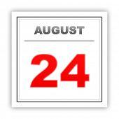 pic of august calendar  - August 24 - JPG