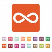 image of infinity symbol  - The infinity icon - JPG